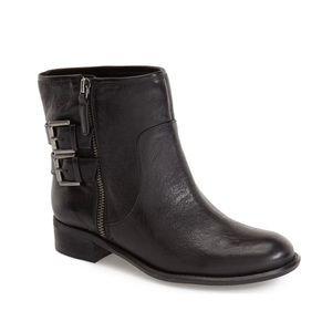 Nine West Just This leather buckle ankle boots 8.5